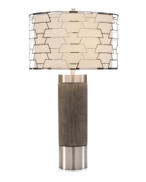 Constructive Shade Concrete Table Lamp