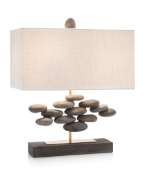 River Rock Accent Lamp